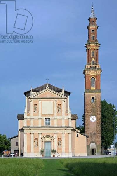 Santa Maria Assunta at Villa Sex, Villa Sex of Reggio Emilia, Emilia Romagna, Italy (photo)