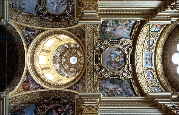Interior of the Madonna della Ghiara, Reggio Emilia, Emilia-Romagna, Italy (photo)