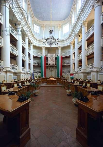 The tricolor room, Reggio Emilia, Emilia-Romagna, Italy (photo)