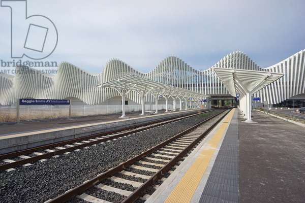 Mediopadana AV Station, Reggio Emilia, Emilia-Romagna, Italy (photo)