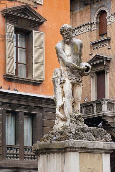 Statue of the Crostolo, Reggio Emilia, Emilia-Romagna, Italy (photo)