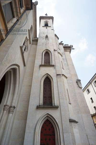 Exterior of the Parmeggiani Gallery, Reggio Emilia, Emilia-Romagna, Italy (photo)