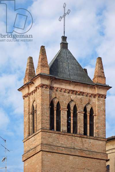Bell Tower of St. Francis, Reggio Emilia, Emilia-Romagna, Italy (photo)