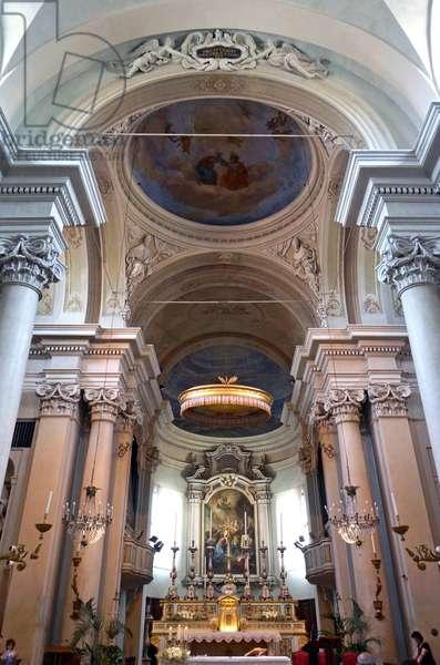 Interior of Sant'Agostino, Reggio Emilia, Emilia-Romagna, Italy (photo)