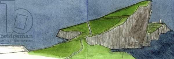 Neist Point Skye 1 (w/c & pencil on paper)