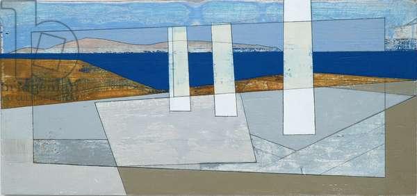 Delos 2, 2011 (acrylic on plywood)