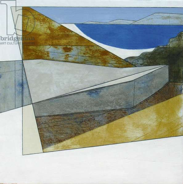 Paros 8, 2012 (acrylic on plywood)