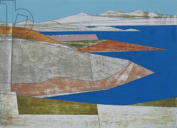 Attica Headlands 2, 2010 (acrylic on plywood)