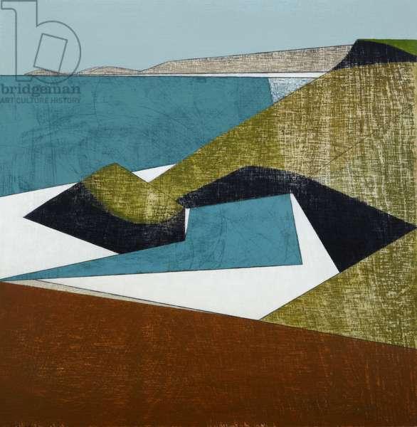 Harbour Coast 37, 2015 (acrylic on plywood)