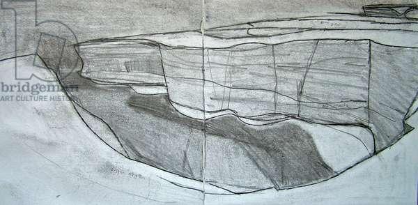 Drawing 3 Benaderreen, 2007 (pencil on paper)