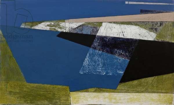 Sharp Edge, 2007 (acrylic on plywood)