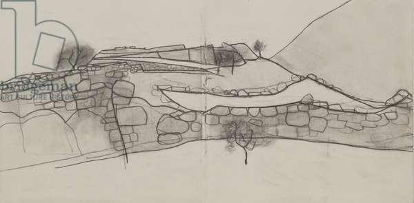 Mycenae drawing 4, 2008 (pencil on paper)