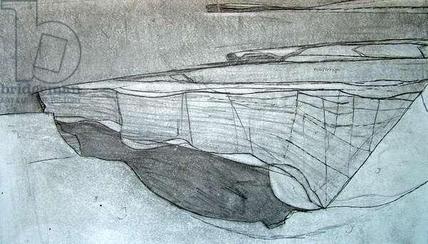 Drawing 4 Benaderreen, 2007 (pencil on paper)
