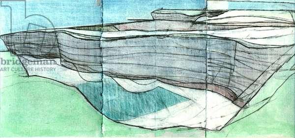 Study Benaderreen, 2007 (w/c & pencil on paper)