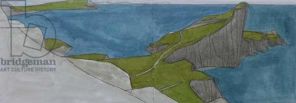 Neist Point Skye 4 (w/c & pencil on paper)