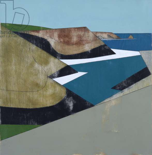 Harbour Entrance 1 (acrylic on plywood)