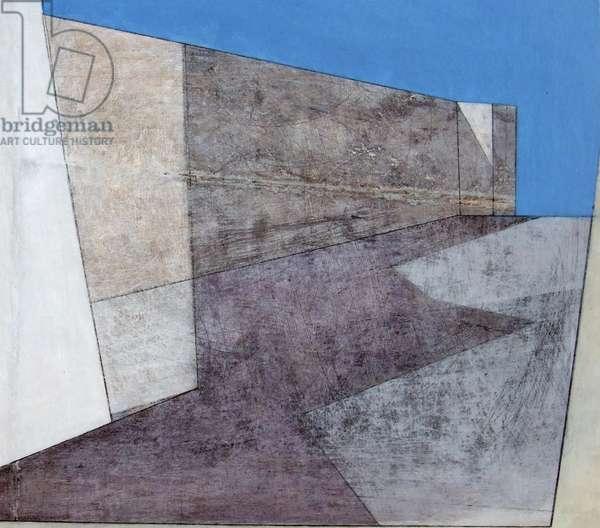 Citadel 1, 2006 (acrylic on hardboard)