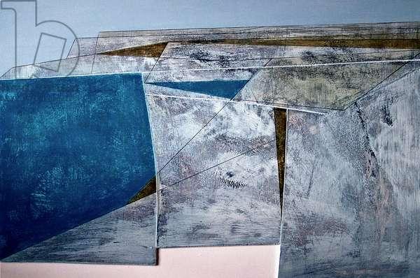 Mullion 8, 2006 (acrylic on plywood)