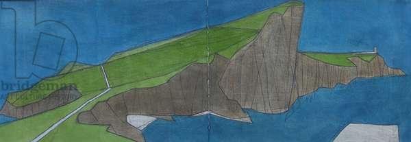 Neist Point, Isle of Skye (w/c on paper)