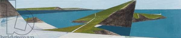 Winged Coast 4 (acrylic on plywood)