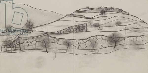 Mycenae drawing 5, 2008 (pencil on paper)