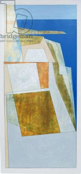 Palamidi 2, 2011 (acrylic on hardboard)