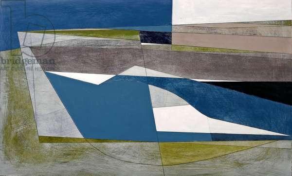 Field Edge 1, 2007 (acrylic on hardboard)