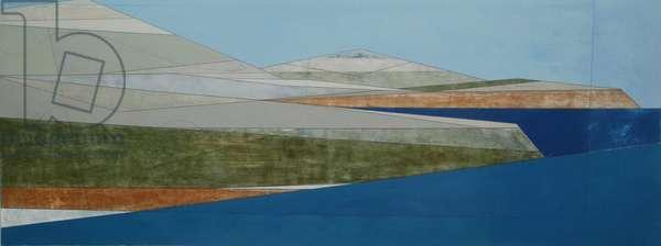 Argolis 5, 2009 (acrylic on plywood)