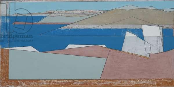 Sounion 1, 2010 (acrylic on hardboard)