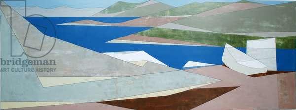 Sounion 7, 2011 (acrylic on plywood)