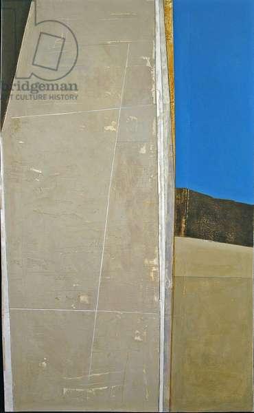Column 3, Egypt, 2005 (acrylic on plywood)
