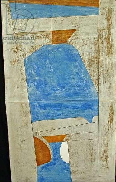Karnak 3, Egypt, 2005 (acrylic on plywood)