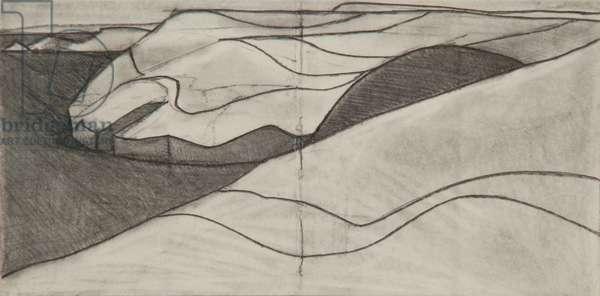 Pentargon drawing 2 10x20cms pencil on paper
