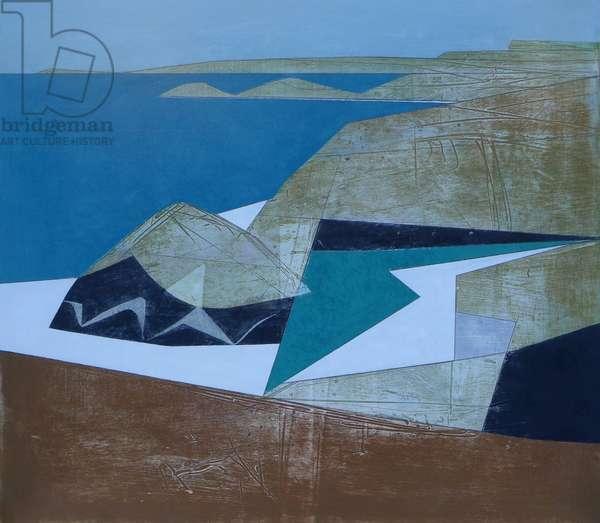 Harbour Coast 12, 2014 (acrylic on board)