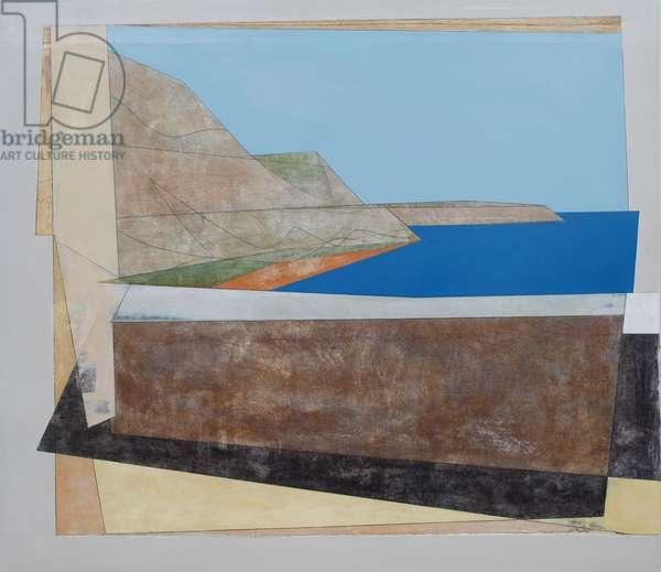 Argolis Wall 1, 2011 (acrylic on hardboard)