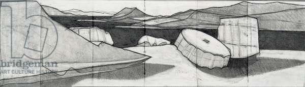 Sounion, 2010 (pencil on paper)