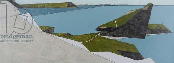 Sea Cliff 1 (acrylic on board)