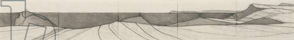 Forrabury drawing 2017 pencil on paper