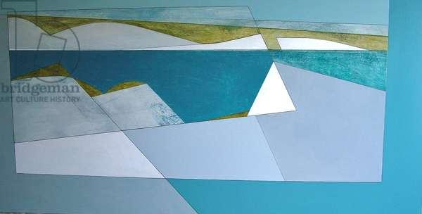 Quarry Edge 2, 2008 (acrylic on board)