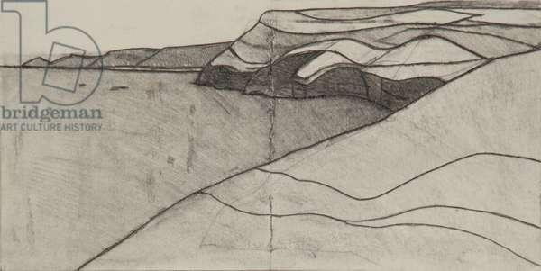 Pentargon drawing 3 10x20cms pencil on paper