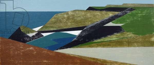 Harbour Coast 32, 2015 (acrylic on plywood)