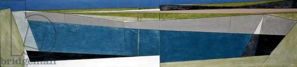 Long Coast, 2007 (acrylic on hardboard)