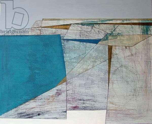 Mullion, 2005 (acrylic on plywood)
