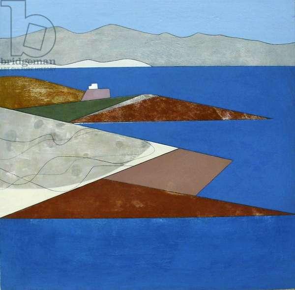 Attica Headlands 6, 2012 (acrylic on plywood)