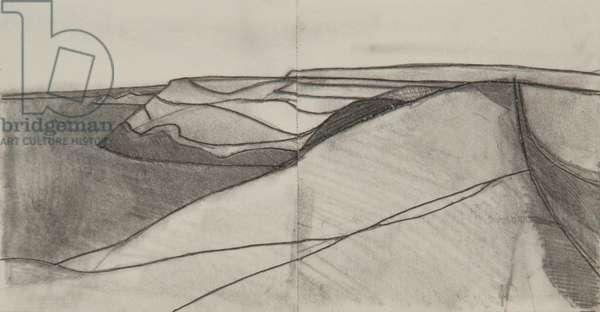 Pentargon drawing 4 10x20cms pencil on paper