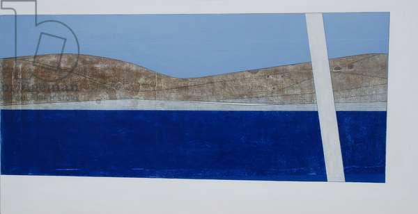 Cyclades, 2010 (acrylic on plywood)