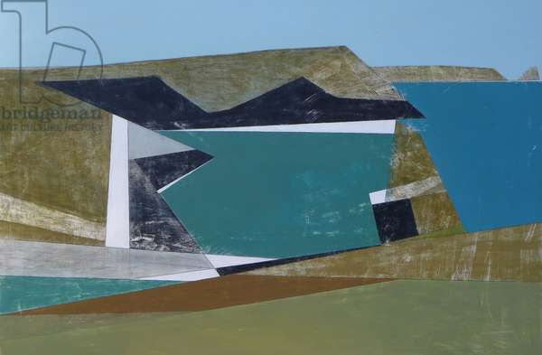 Harbour 3, 2014 (acrylic on board)