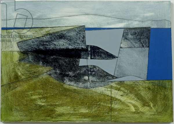 Downpatrick Head 1, 2007 (acrylic on plywood)