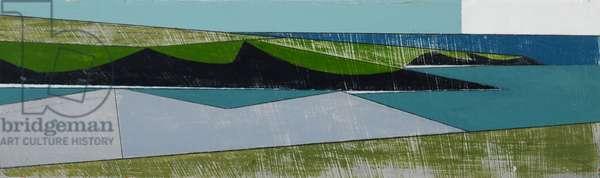 Headlands 9 (acrylic on board)