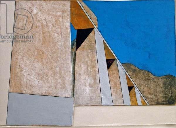 Hatshepsut 3, Egypt, 2004 (acrylic on hardboard)